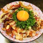 創作グリル YUKAI - 料理写真:とろ玉牛すじ丼