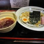 乙麺造場 - 鴨汁つけ麺(680円)