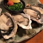 酒の魚 和海 - 生カキ