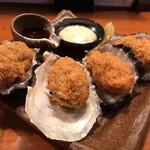 酒の魚 和海 - カキフライ