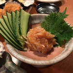 酒の魚 和海 - 梅水晶