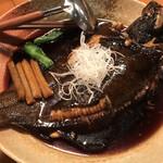 酒の魚 和海 - 子持ち真カレイの煮付け