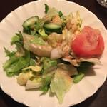 ステーキハウスニューテキサス - サラダ