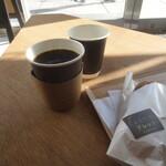 Nantokapuressotsu - コーヒー+お冷+ホットドッグ