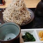川音亭 - 寒ざらしざる蕎麦大盛