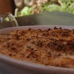 カンパーニャ - ランチのグラタン【パンチェッタのクリームトマト】
