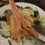 御かにめし 日本橋かに福 - 蟹サラダ