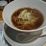 本町製麺所 阿倍野卸売工場 中華そば工房 - 料理写真:具なし中華そば