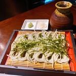 125618893 - 新潟県小千谷市「へぎ蕎麦」