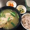 韓国田舎家庭料理 東光 - 料理写真:サムゲタンランチ