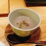 焼酉 川島 - 蓮根のスープ