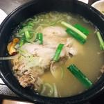 韓国田舎家庭料理 東光 - サムゲタンランチ