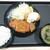 松のや - 料理写真:ロースかつ&カニ風味コロッケ定食