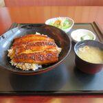 鰻作 - うな丼(4,300円)