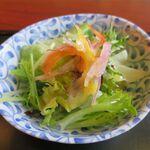 鰻作 - ミニサラダ