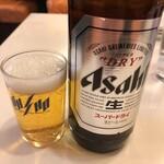 餃子の王将 - 瓶ビール大480円税抜