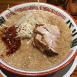 らーめん バリ男 - スープ