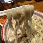 らーめん バリ男 - 麺リフトアップ