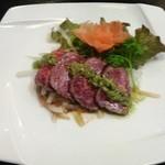 竹琳 - 牛肉のたたき