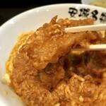 125632882 - 豚の唐揚げは三河ポークという地元のブランド豚の内モモ肉が使われていて、サクウマ!!