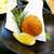 磯料理 まるけい - 名物料理のしんじょ(単品で注文)。抹茶塩とレモンでさっぱりと
