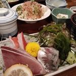 網元料理あさまる - お刺身絶品!