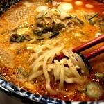 万豚記 - 白ごま担々麺 1012円