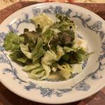 リストランテ真田 - グリーンサラダ