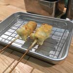 串カツ ほおかむり - 二本づつの提供