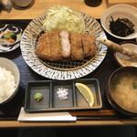 箱崎 井のかわず - 料理写真:上ロースかつランチ=950円
