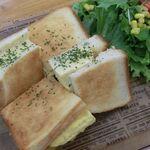 川珈琲店 - 関西風厚焼き玉子サンド