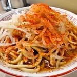 ラーメン生郎 - ラーメン 510円 (野菜・にんにく・唐辛子増し)
