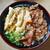 立花うどん - 料理写真:肉ごぼ天うどん