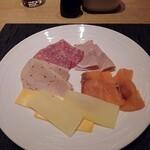 125661384 - ハム・チーズ・サーモン