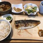 糀 - サバの定食