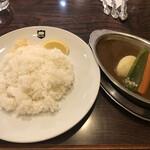 デリー - 料理写真:デリーカレー(800円)のラム肉