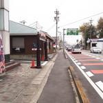 ニーニャ・ニーニョ 桜小町 - 岐阜街道沿いを名古屋方面に向かって左沿いにあります
