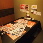 ニーニャ・ニーニョ 桜小町 - テーブル席