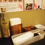 ニーニャ・ニーニョ 桜小町 - テーブル周り