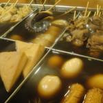 大石 - 冬季限定(10月~3月末) 特製おでん☆☆とろとろに煮えた牛スジが人気♪
