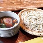 くまの庵 - 料理写真:鴨ざる