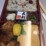 鶏と玉子 太郎 - ・桜姫の唐揚げ弁当