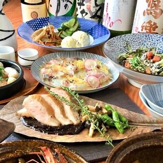 【歓送迎会に◎】2H飲み放題付コース4000円~海鮮鍋も!