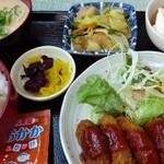 常盤 - ミンチカツ定食(日替わり)