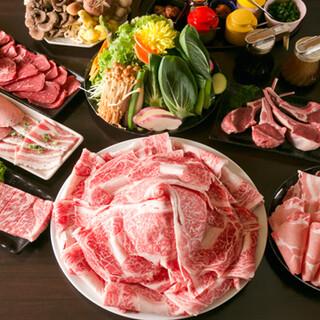 国産のお肉を食べ放題でご提供!こだわりのタレを絡ませてどうぞ