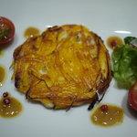 サカナザ・マエダ - 白魚とポテトチーズのガレット
