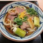 125683250 - 丸亀製麺 「鴨ねぎうどん」