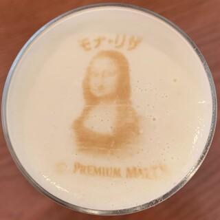 ご接待・記念日・サプライズに!大人気「ビールアートラテ」