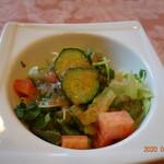 ボンファム - カレーセットのサラダ