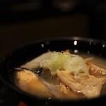 グルメ回転寿司 函太郎 - 鮭のあら汁